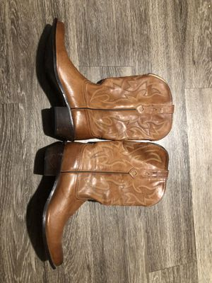 Cowboy/girl boots! Size 8 tan/brown for Sale in Austin, TX