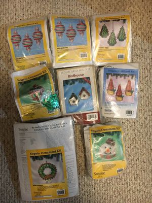 Ton of sequin ornament kits for Sale in Prior Lake, MN