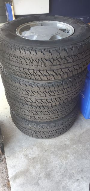 Firestone tires and wheels for Sale in Germantown, MD