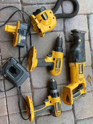Dewalt 18 v cordless tools for Sale in LAUD BY SEA, FL