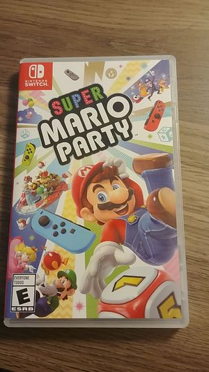 Super mario party-nintendo switch for Sale in Tarpon Springs, FL