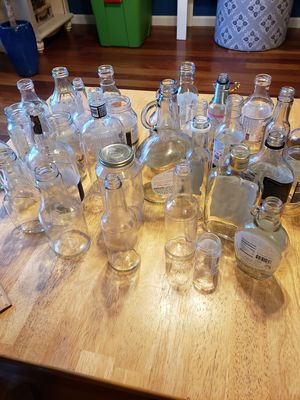 Glass jars, bottles, and containers for Sale in Gresham, OR