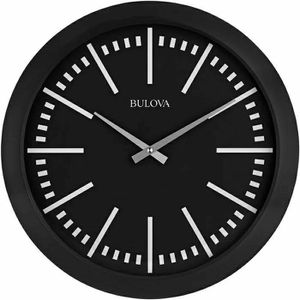 Bulova Sound Around Stereo Bluetooth Enable Wall Clock - Matte Black for Sale in Half Moon Bay, CA