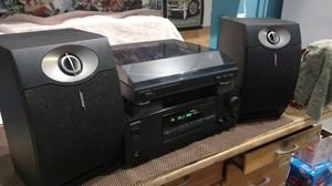 Onkyo, Technics, Phillips, Bose, stereo w/speaker options for Sale in Arlington Heights, IL