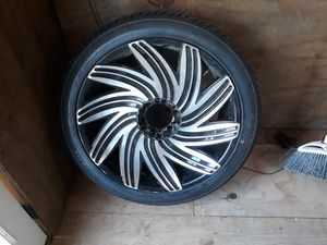 4 rims size 22 (all together) for Sale in Anniston, AL