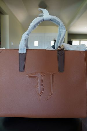BRAND NEW (never used) TRUSSARDI JEANS ISCHIA ECOLEATHER TOTE BAG for Sale in La Habra, CA