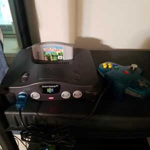 N64 Nintendo 64 System W/ Army Men Sargent's Heroes for Sale in Pearland, TX