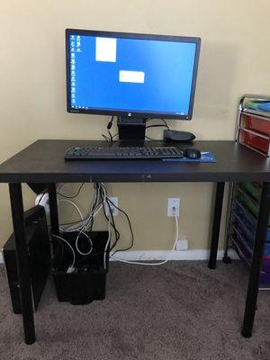 IKEA desk black for Sale in Chula Vista, CA
