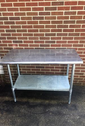 Stainless steel table for Sale in Norfolk, VA