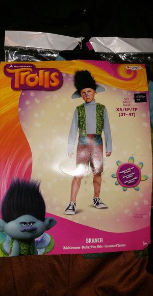 "Trolls ""BRANCH"" costume 3-4t for Sale in Santa Ana, CA"