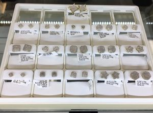 condition: new Valentine's Day Special 50% off on diamond earrings. As low as $78 and up. for Sale in Lynn, MA