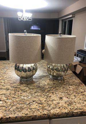 Set of 2 mercury Lamps for Sale in Roseville, MI