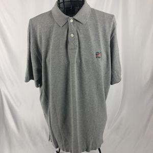 VTG Polo Ralph Lauren Men's Polo Shirt Medium Short Sleeves Gray RL Flag Logo for Sale in Orlando, FL
