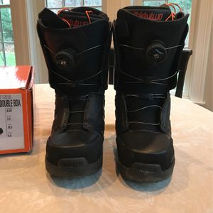 Snowboarding Boots Size 7. Double BOA for Sale in Chester, CT