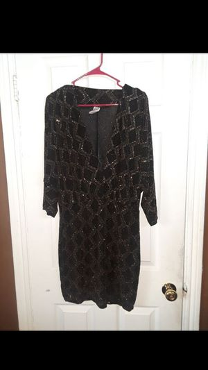 Party dress black and gold for Sale in Hayward, CA
