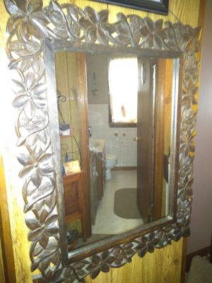 Pier one vintage wall mirror for Sale in Midland, PA