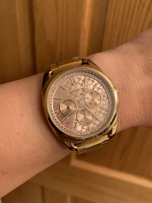 Coach Watch, rose gold in color for Sale in Eau Claire, WI