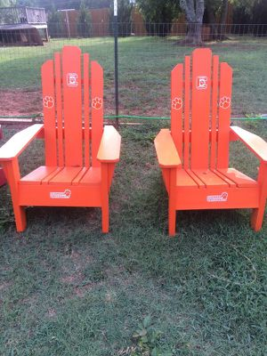 Brand-new Clemson Adirondack chairs for Sale in Charlotte, NC