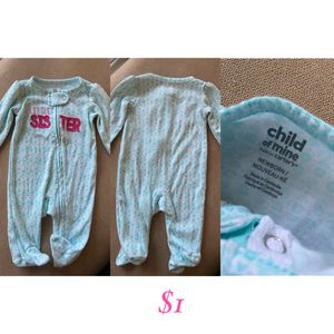 Little sister sleep n play footies for Sale in Wilsonville, OR