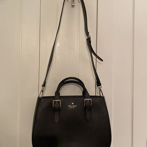 Kate Spade Black Leather Bag for Sale in Plymouth, MA