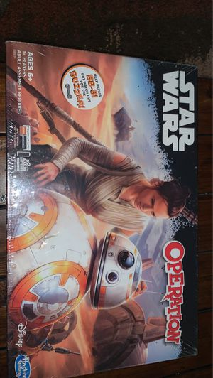 STAR WARS OPERATION BRAND NEW BOARD GAME for Sale in Norfolk, VA