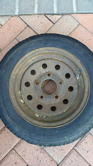 Trailer wheel and tire for Sale in Wrightwood, CA