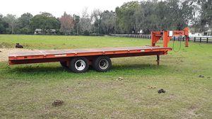 24' Ameratrail gooseneck trailer for Sale in Seffner, FL