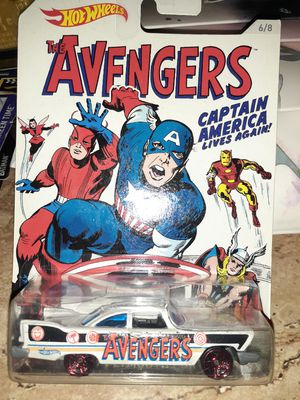 1957 PLYMOUTH AVENGERS CAPTAIN AMERICA RETIRED HOTWHEEL for Sale in San Diego, CA