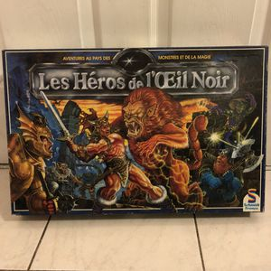 Les Héros De L'oeil Noir French Board Game for Sale in Brooklyn, NY