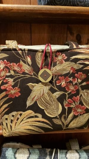 Tropical handmade bag for Sale in Ferrisburgh, VT