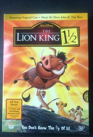 The Lion King 1 1/2 DVD for Sale in Corona, CA