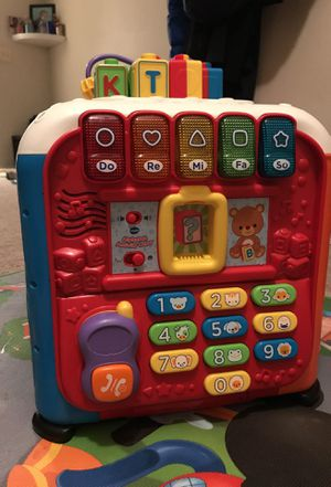 Vetch baby/toddler learning activity cube for Sale in Alexandria, VA