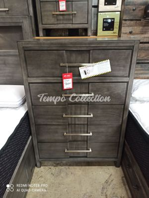 New Solid Wood Chest, Grey, SKU# FOA7580CTC for Sale in Norwalk, CA