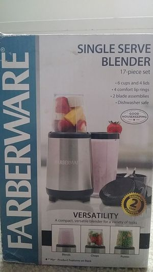17pcs Blender Single Serve for Sale in Arlington, VA