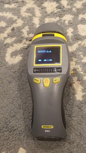 General Tools Pin Pinless Moisture Meter Model # mm9 for Sale in Washington, DC