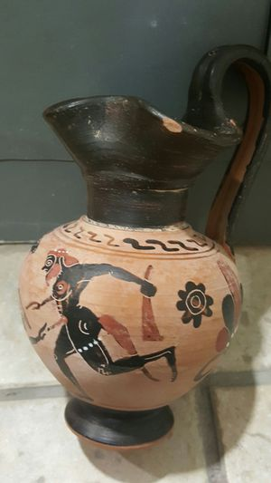 Ancient Greek Erotic Vase for Sale in New York, NY