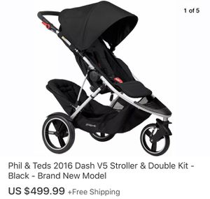 Great Phil & Teds Sport double Stroller!! Value of $499+ for Sale in Moreno Valley, CA