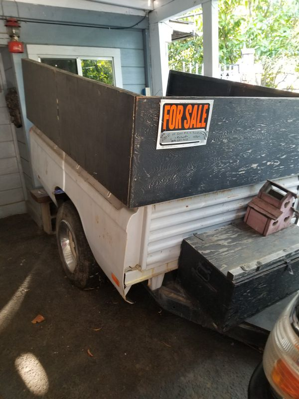 Chevrolet luv utility trailer 64 wide by 74 long asking 600 or best offer.