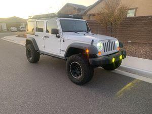 Jeep Wrangler Unlimited *ONLY 42K MILES* 4 Door Hardtop Hard Top X Sport JKU JK 4dr for Sale in Peoria, AZ