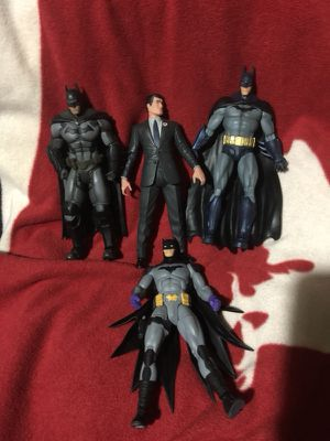 Batman action figures and major for Sale in Chicago, IL