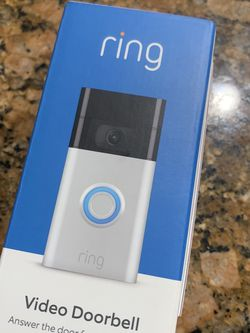 Ring Doorbell 2nd Generation for Sale in Hialeah,  FL