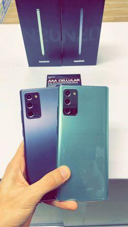Samsung Galaxy Note 20 5G 128gb Factory Unlocked - Like New! (30 Days Warranty) for Sale in Arlington,  TX