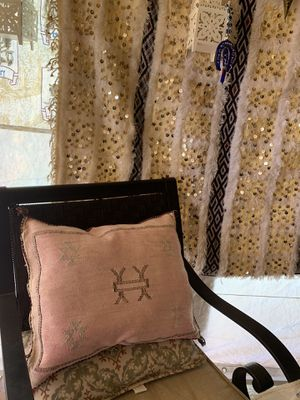 Moroccan Authentic Sabra Cactus Silk Pillows for Sale in Scottsdale, AZ