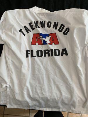 ATA Florida taekwondo uniform (size 2) for Sale in Plantation, FL