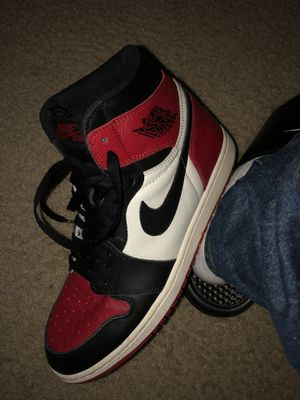 Nike Air Jordan 1 Bred Toe Size 10.5 for Sale in Silver Spring, MD
