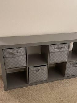 """Gray 8-Cube Storage Organizer 13"""" Cube for Sale in Tustin,  CA"""
