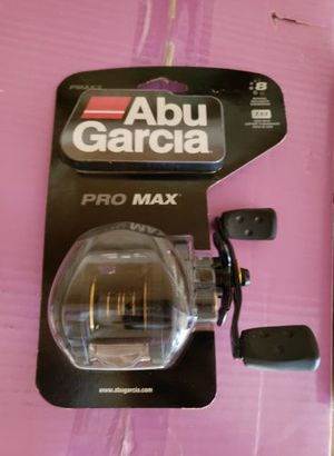 Abu Garcia Pro Max Low Profile Baitcasting Fishing Reel - brand new for Sale in Concord, NC
