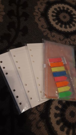 A6 notebook refill pack for Sale in Los Angeles, CA