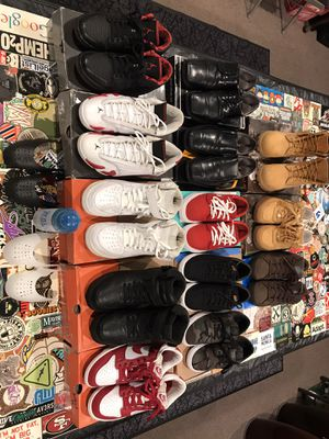 Variety of shoes available for sale for Sale in Hayward, CA