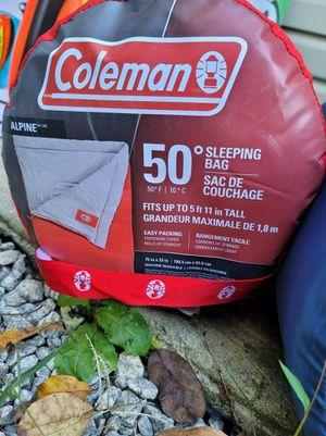 Coleman 50° sleeping bag for Sale in Douglasville, GA